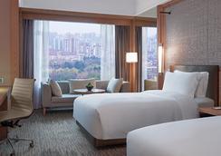 上海巴黎春天新世界酒店 - 上海 - 臥室