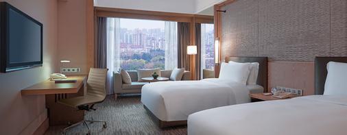 New World Shanghai Hotel - Shanghai - Makuuhuone