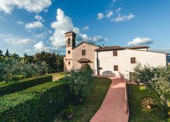 Castello Vicchiomaggio - Greve in Chianti - Rakennus