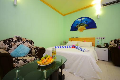 Olhumathi View Inn - Ukulhas - Schlafzimmer