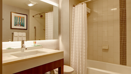 Hyatt Place Chicago/O'Hare Airport - Rosemont - Bathroom
