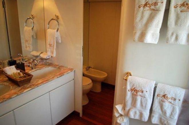 克里斯蒂娜歐納西斯遊艇酒店 - 鹿特丹 - 鹿特丹 - 浴室