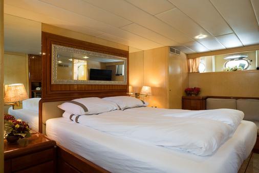 Christina Onassis Yachthotel - Rotterdam - Schlafzimmer