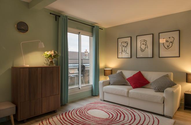 快樂文化道本頓住宅別墅 - 巴黎 - 巴黎 - 客廳