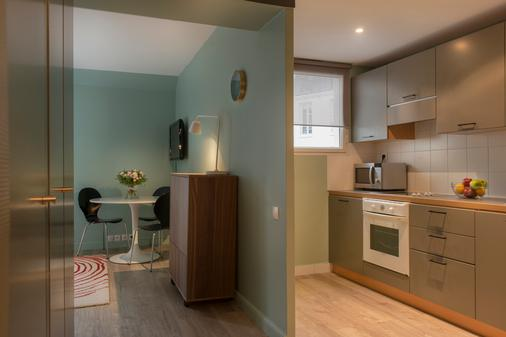 Villa Daubenton - Παρίσι - Κουζίνα