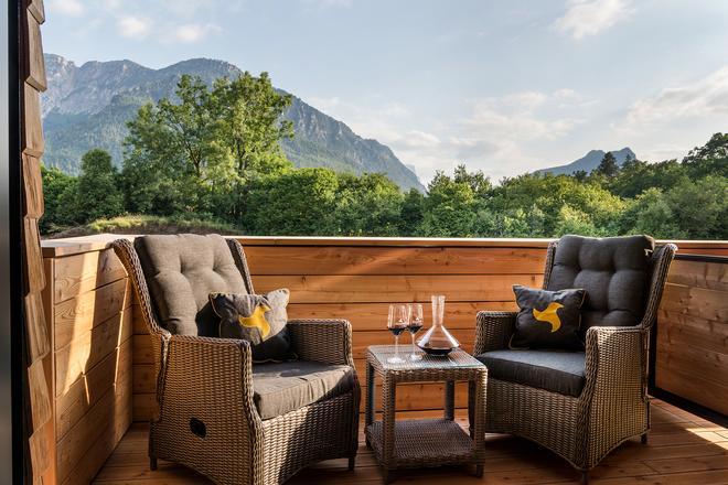 Klosterhof - Alpine Hideaway & Spa - Bad Reichenhall - Balcony