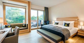 Klosterhof - Alpine Hideaway & Spa - באד רייכנהל - חדר שינה