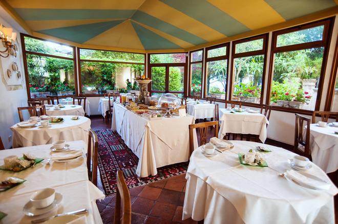 Hotel Santa Caterina - Siena - Restaurant