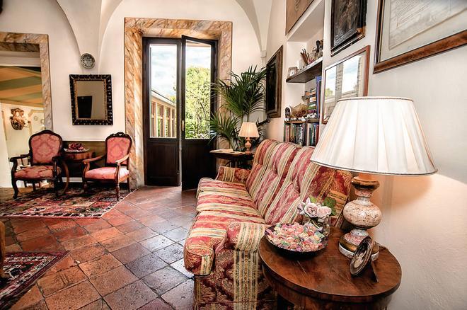 Hotel Santa Caterina - Siena - Lobby