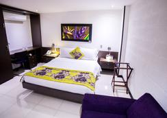 Hotel Golden Palermo - Medellín - Phòng ngủ