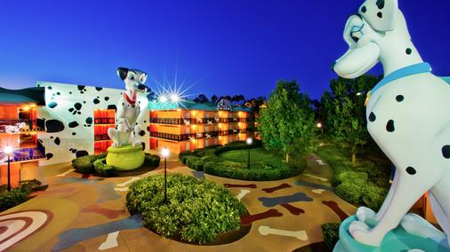 Disney's All-Star Movies Resort - Lake Buena Vista - Näkymät ulkona