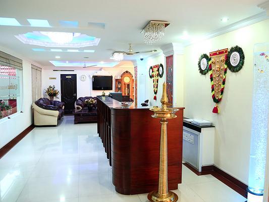 Krishna Regency - Guruvayoor - Front desk