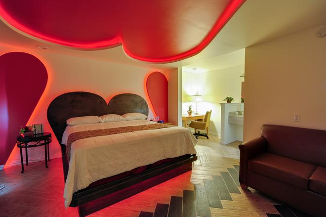 Romantic Inn & Suites - Ντάλας - Κρεβατοκάμαρα