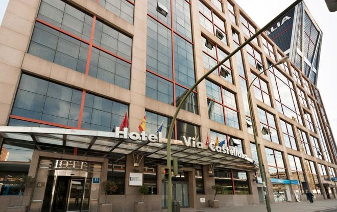 Hotel Vía Castellana - Madrid - Toà nhà