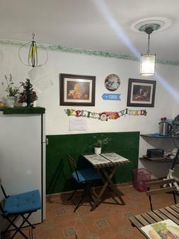 Pensión La Giraldilla - Seville - Phòng ăn