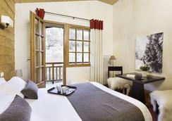 Hôtel L'Arboisie - Megève - Makuuhuone
