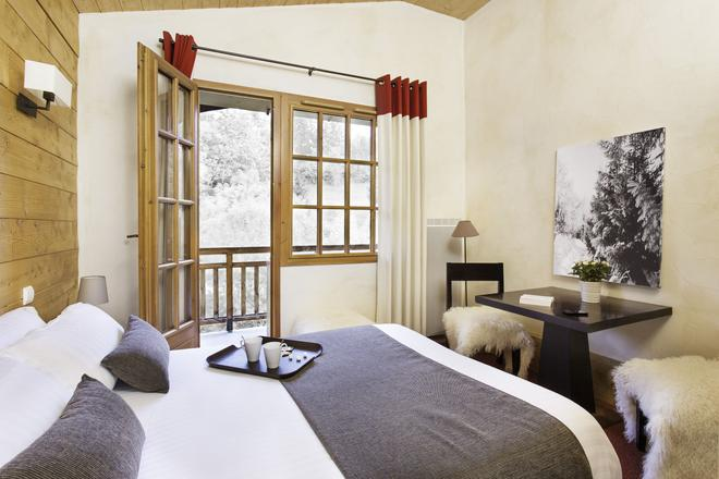Hôtel L'Arboisie - Μεζέβ - Κρεβατοκάμαρα