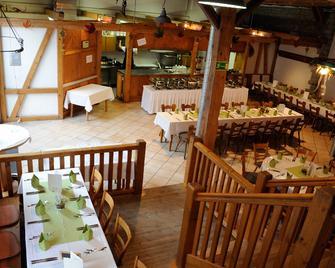Hotel Schwarzes Ross - Stadtschwarzach - Ресторан