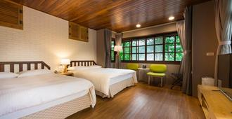 Mingchin Resort-Mingchin Forest Recreation Area - Yilan City - Bedroom