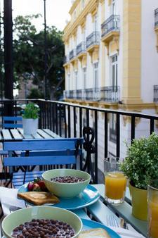 The Lights Hostel - Málaga - Balcony
