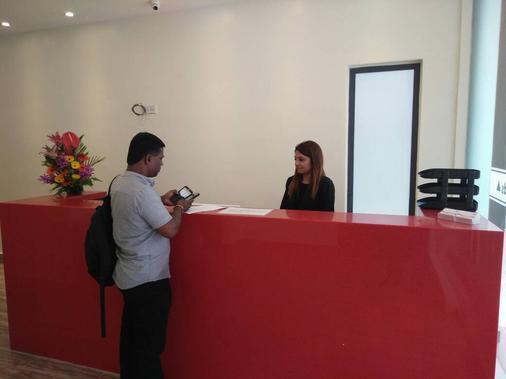 Hotel Gds Brickfield Kuala Lumpur - Kuala Lumpur - Rezeption