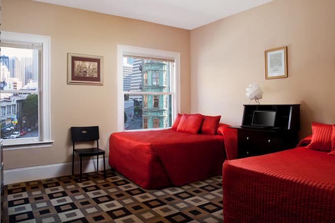 Hotel North Beach - San Francisco - Makuuhuone