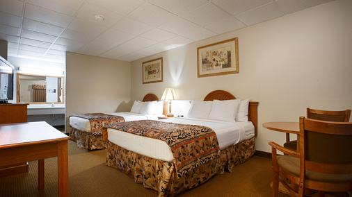 Red Coach Inn & Suites El dorado KS - El Dorado - Schlafzimmer
