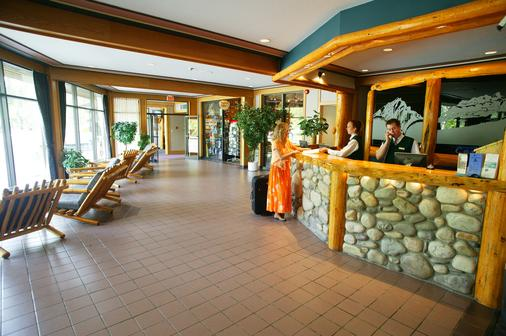 Inns of Banff - Banff - Front desk