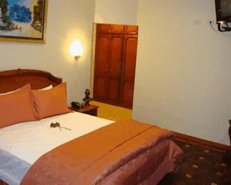 Hotel Boutique Plaza Sucre - Quito - Bedroom