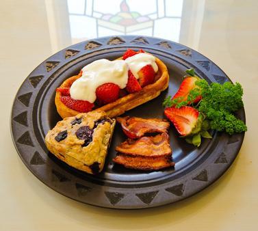 Adobe Rose Inn Bed and Breakfast - Tucson - Thức ăn