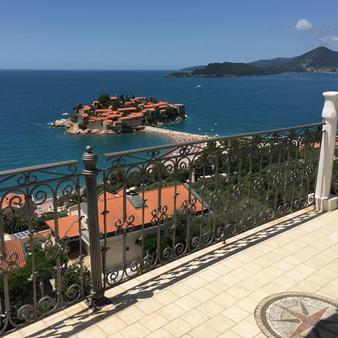 Villa Edelweiss - Sveti Stefan - Balkon