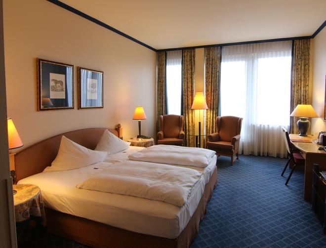 德國史威林皇冠假日酒店 - 史威林 - 什未林 - 臥室