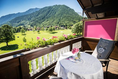 Hotel das liebling - Adults Only - Pertisau - Balcony