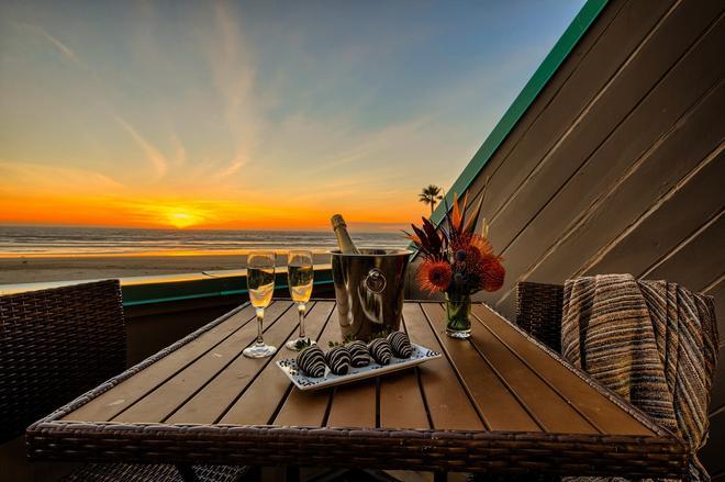海之冒險海灘酒店暨餐廳 - 皮斯摩海灘 - 皮斯莫比奇 - 陽台