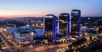 Gothia Towers - Gotemburgo - Edificio