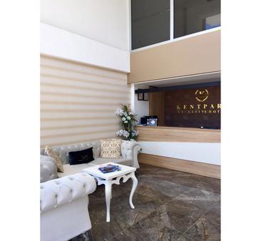 Kentpark Exclusive Hotel - Kahramanmaraş - Rezeption