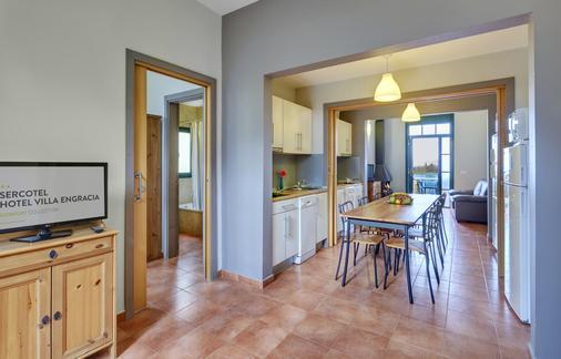 Hotel Rural y Apartamentos Sercotel Villa Engracia - L'Espluga de Francoli - Speisesaal