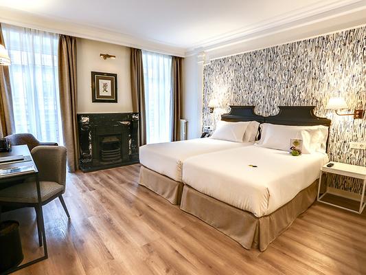 戶撒歐羅巴酒店 - 聖賽巴斯提安 - 聖塞巴斯蒂安 - 臥室