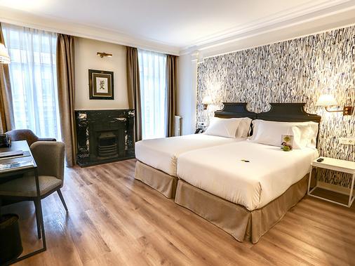戶撒歐羅巴酒店 - 聖賽巴斯提安 - 聖塞瓦斯蒂安 - 臥室