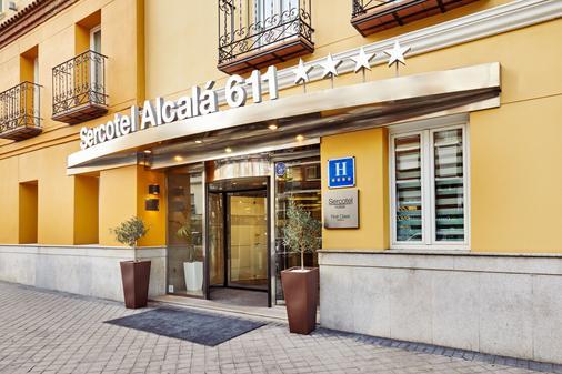 Hotel Sercotel Alcalá 611 - Madrid - Rakennus