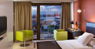 Hotel Cristina Las Palmas - לס פלמס דה גראן קנריה - חדר שינה