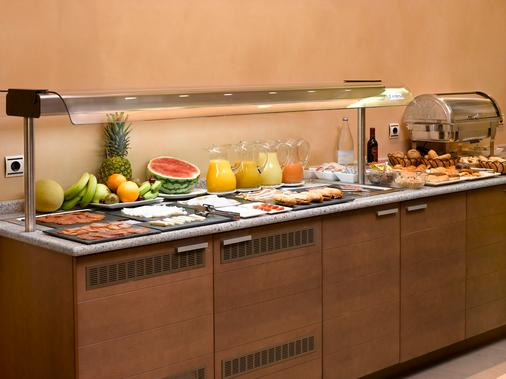 Hotel Sercotel Portales - Λογκρόνο - Μπουφές
