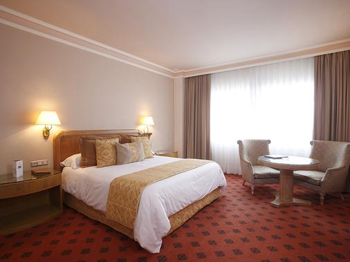 Gran Hotel Los Abetos - Santiago de Compostela - Κρεβατοκάμαρα