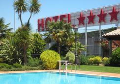 Gran Hotel Los Abetos - Santiago de Compostela - Πισίνα