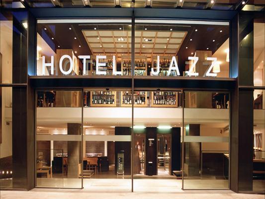 Hotel Jazz - Barcelona - Edificio