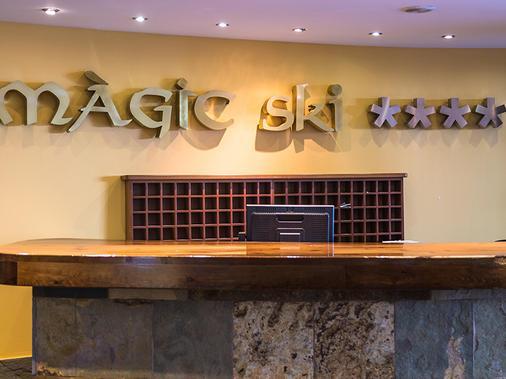 Hotel Magic Ski - la Massana - Front desk