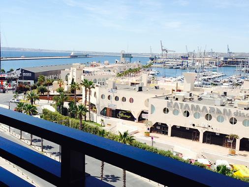 Hotel Sercotel Suites Del Mar - Alicante - Balcony
