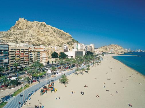 Hotel Sercotel Suites Del Mar - Alicante - Beach