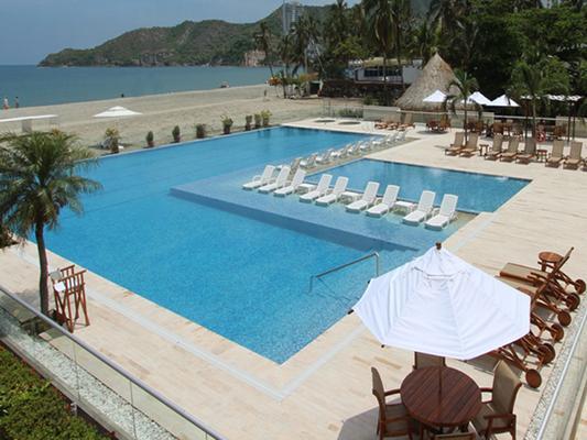 Hotel Tamacá Beach Resort - Santa Marta - Pool