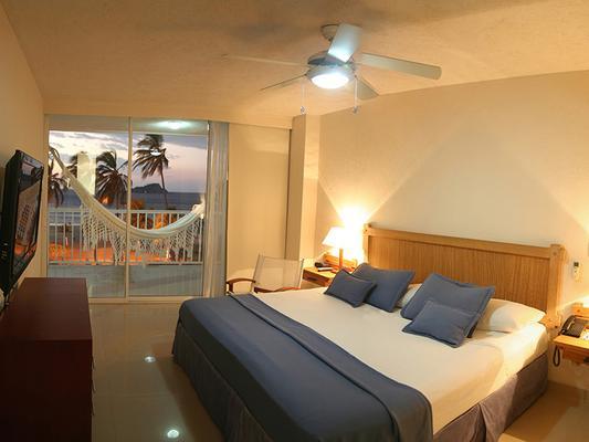 Hotel Tamacá Beach Resort - Santa Marta - Bedroom